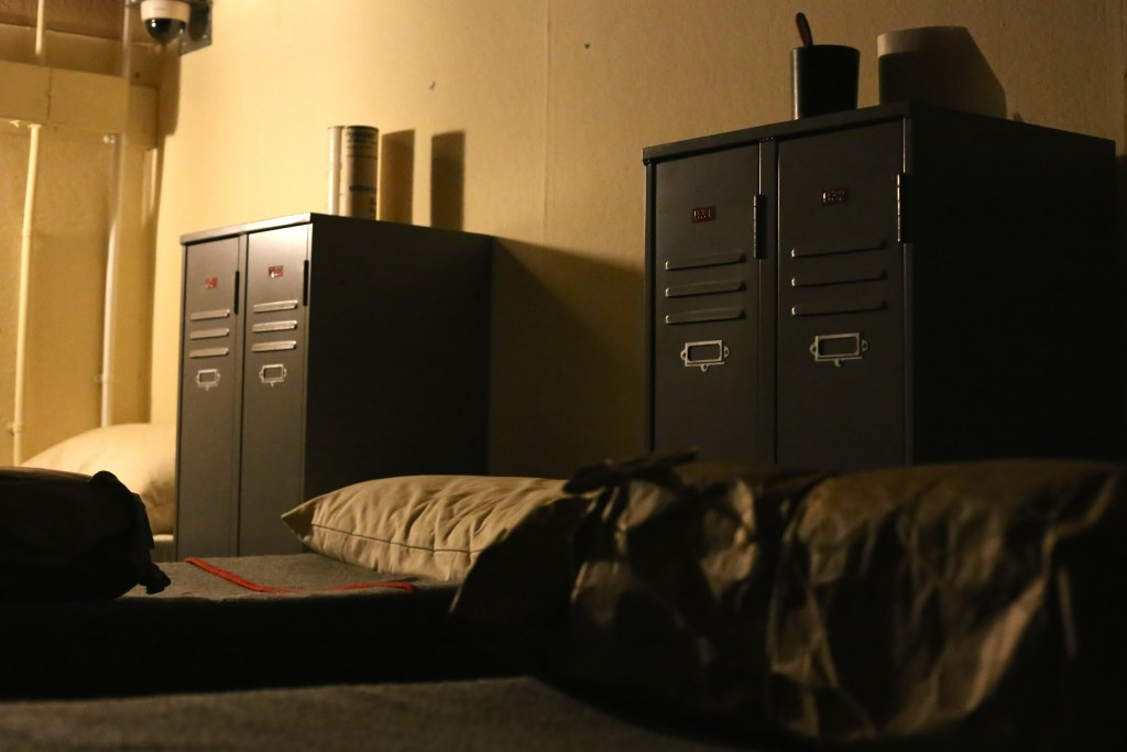 The dormitory in Scotland's Secret Bunker
