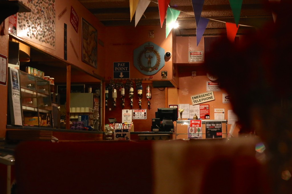 The cafe in Scotland's Secret Bunker