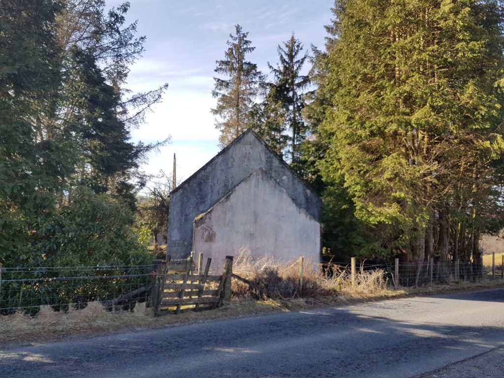Katy's cottage at Spean Bridge