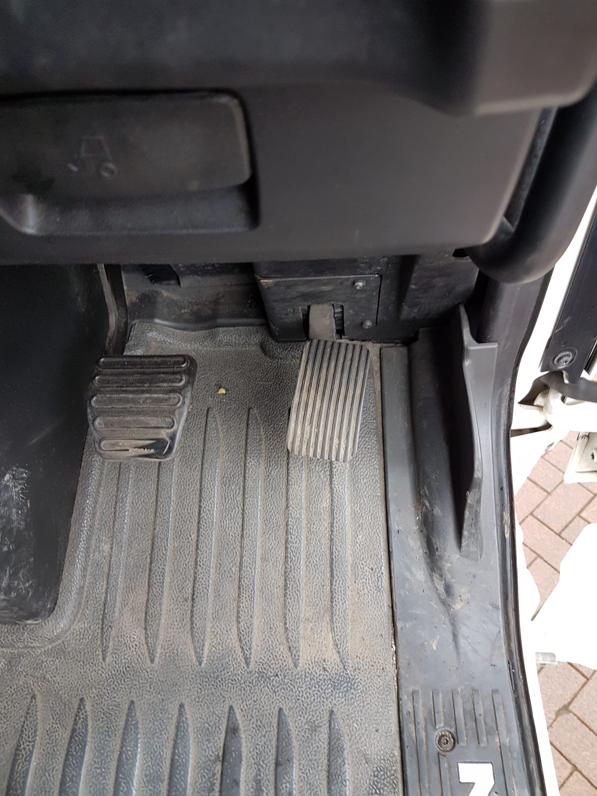 Lorry pedals
