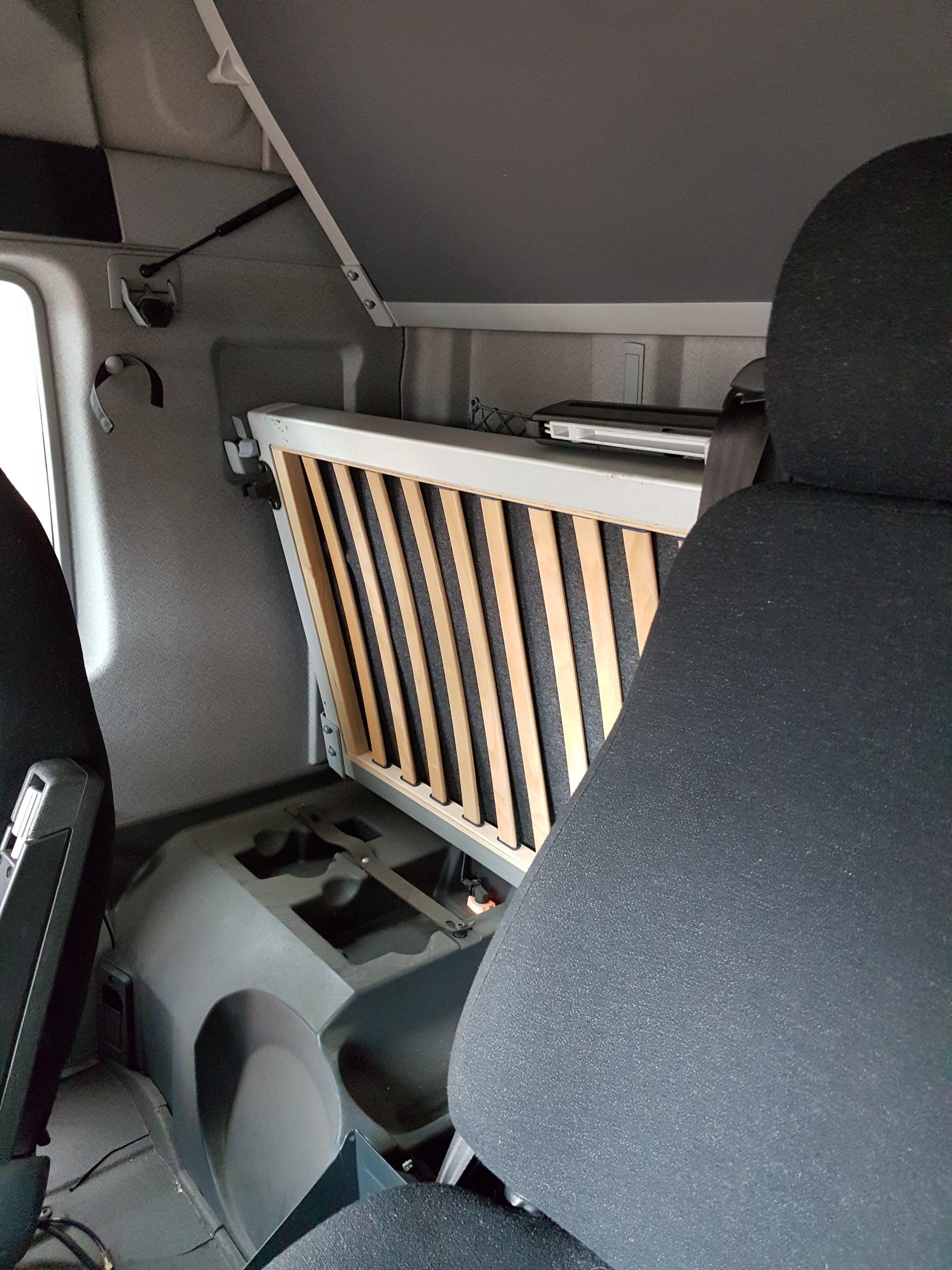 Lorry cab rear