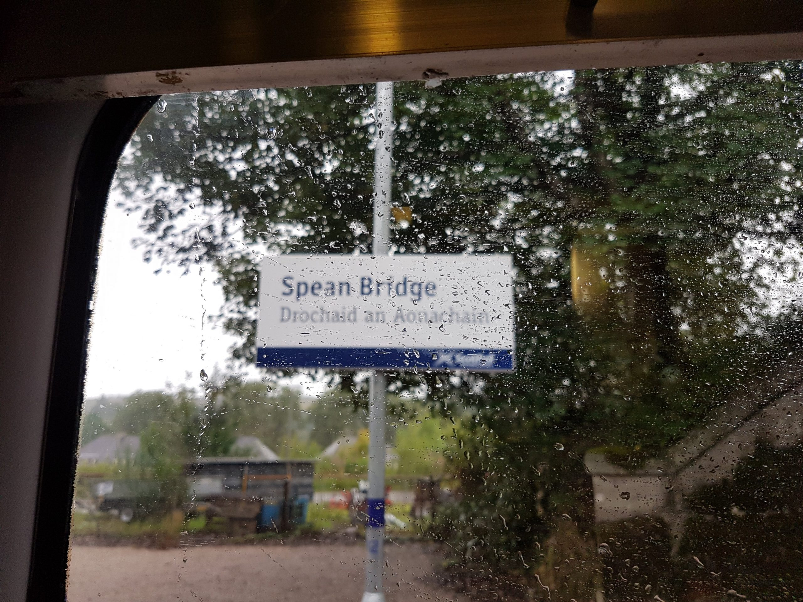 Spean Bridge sign