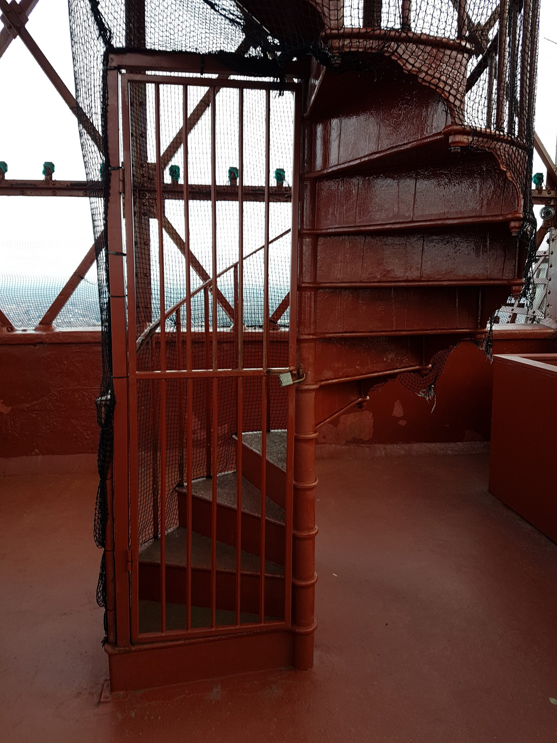 Top of Blackpool Tower