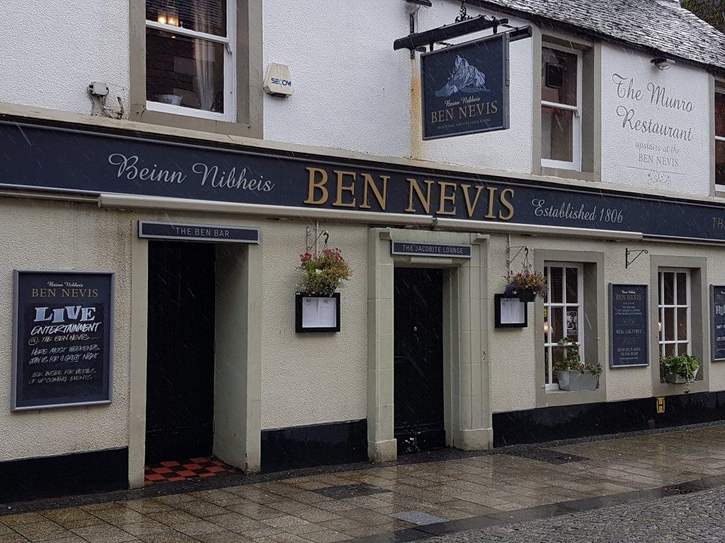 Ben Nevis pub