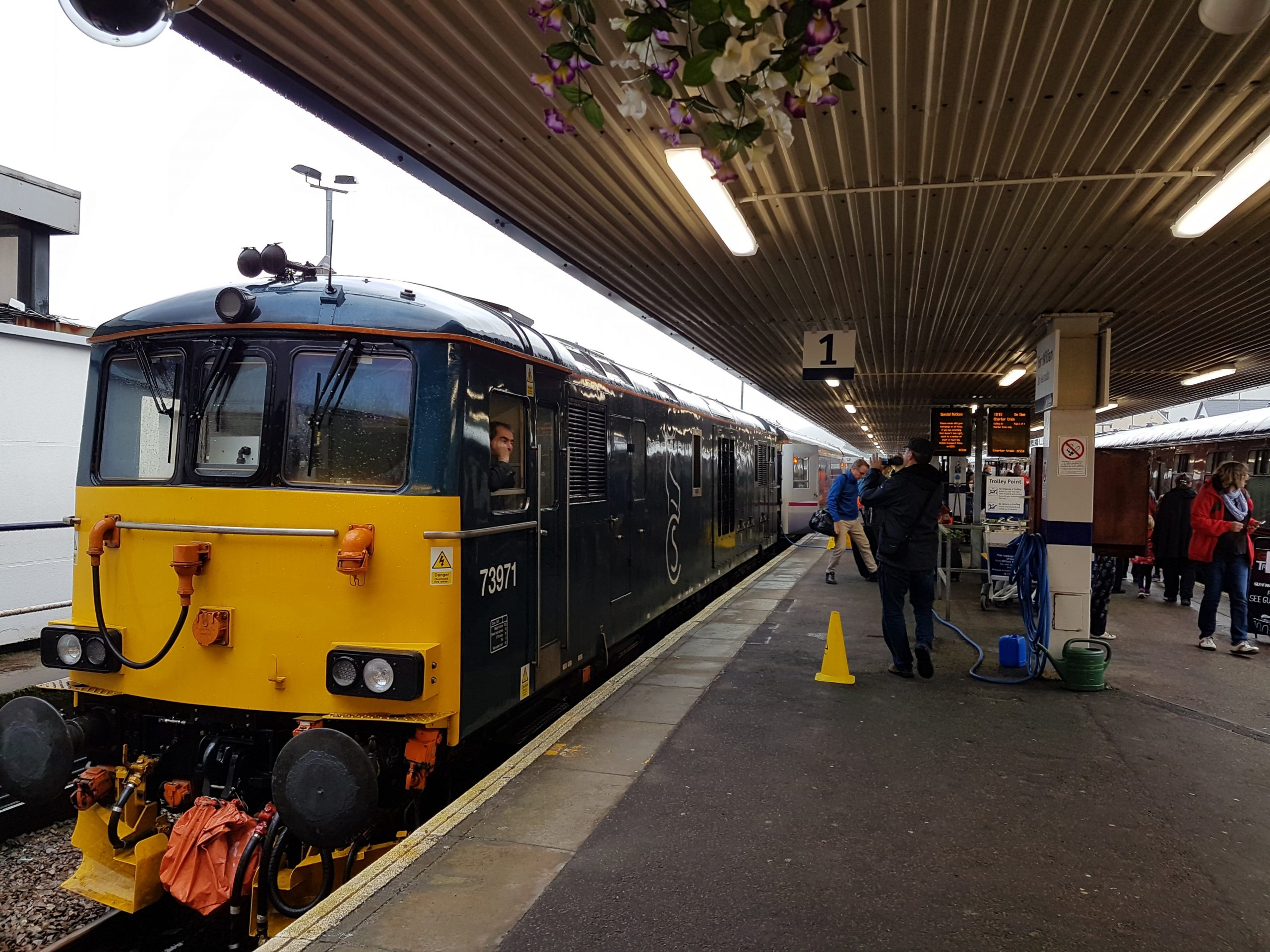Sleeper train at Fort William