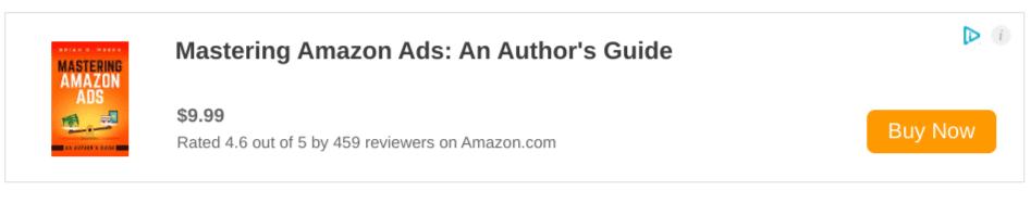 Mastering Amazon Ads