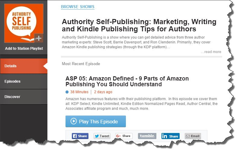 Authority Self-Publishing Podcast