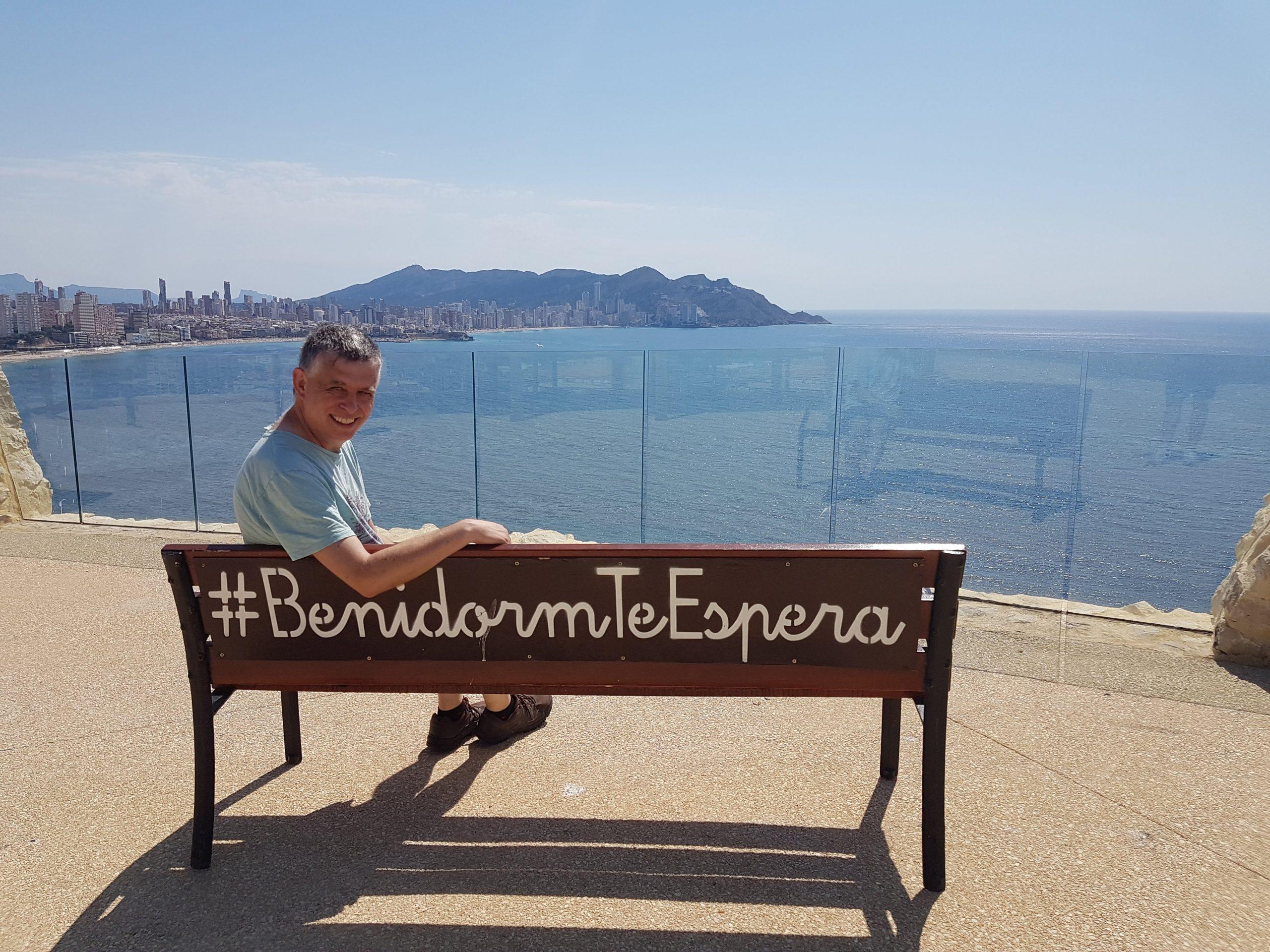 Paul Teague creator of the Benidorm podcast